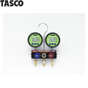 TASCO(タスコ) ボールバルブ式デジタルゲージマニホールドキット TA124DW-2
