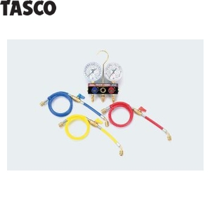 TASCO(タスコ) ボールバルブ式ゲージマニホールド バルブ付チャージホース仕様キット TA124KVH