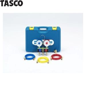 TASCO(タスコ) マニホールドセット(チャ-ジバルブ付) TA15DA