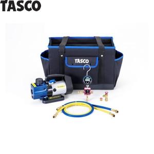 TASCO(タスコ) R410A/R32デジタルマニホールドキット TA22AB