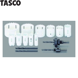 TASCO(タスコ) 超硬チップホールソーセット(一般目的用) TA653RG