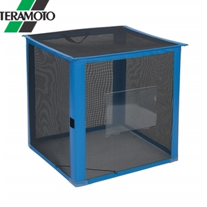 テラモト 自立ゴミ枠 折りたたみ式 黒 600×600×700 DS-261-011-9 【在庫有り】【あす楽】