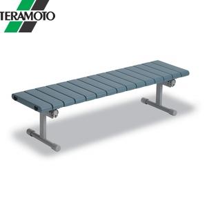 テラモト QuickStep(ベンチ)1500 ブルー 背なし BC-310-115-3 [個人宅配送不可商品]