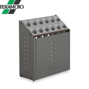 テラモト オブリークアーバン C12 グレー UB-285-212-6 [個人宅配送不可商品]
