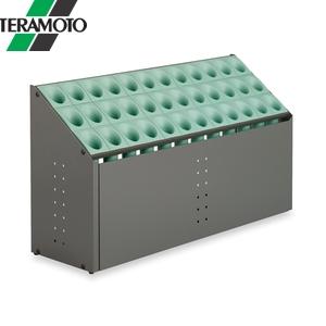 テラモト オブリークアーバン C36 グリーン UB-285-236-1 [個人宅配送不可商品]