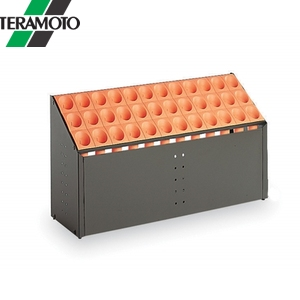 テラモト オブリークアーバン C36 オレンジ UB-285-236-7 [個人宅配送不可商品]