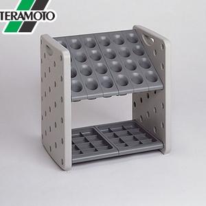 テラモト アーバンピット K24 グレー 24本立 UB-287-024-6 [個人宅配送不可商品]