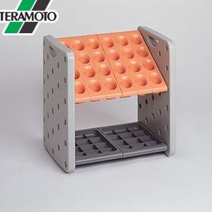 テラモト アーバンピット K24 オレンジ 24本立 UB-287-024-7 [個人宅配送不可商品]