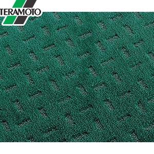 テラモト エコレインマット(NBR) グリーン 900×1800mm MR-026-048-1 [個人宅配送不可商品]