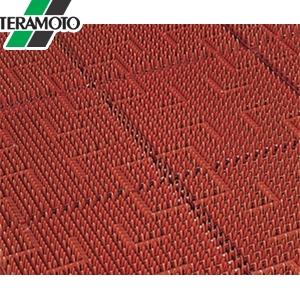 テラモト テラロイヤルマット 茶 フチ付 900×1800mm MR-050-056-4 [個人宅配送不可商品]