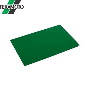 テラモト 粘着マットシートG 緑 60枚層 60×120cm 一般用 MR-123-643-1 [個人宅配送不可商品]