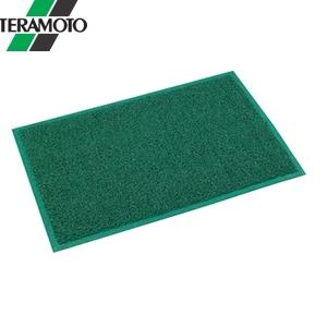 テラモト ケミタングル ハード 緑 高周波フチ付 900×1500mm MR-139-046-1 [個人宅配送不可商品]