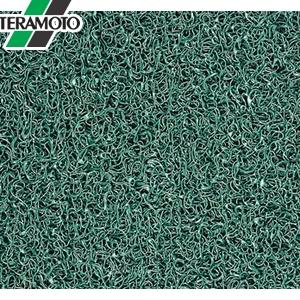 テラモト ケミタングル ソフト 緑 フチなし 90cm巾×6m MR-139-255-1 [個人宅配送不可商品]