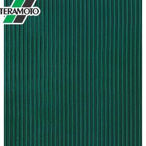 テラモト 筋入ゴム 5mm厚 緑 1m×20m MR-142-210-1 [個人宅配送不可商品]