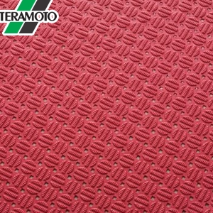 テラモト ダイヤマットAL 赤 92cm×10m MR-143-301-2 [個人宅配送不可商品]