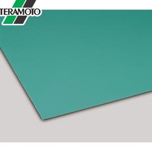 テラモト カラー導電性ゴムシート 2mm厚 緑 1m×20m MR-144-010-1 [個人宅配送不可商品]
