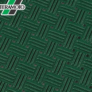 テラモト ダイヤマットグリッド 緑 92cm×10m MR-159-000-1 [個人宅配送不可商品]