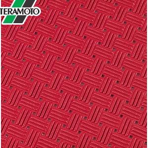 テラモト ダイヤマットグリッド 赤 92cm×10m MR-159-000-2 [個人宅配送不可商品]