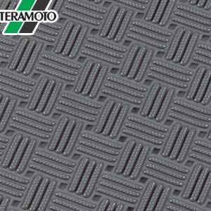 テラモト ダイヤマットグリッド 灰 92cm×10m MR-159-000-5 [個人宅配送不可商品]