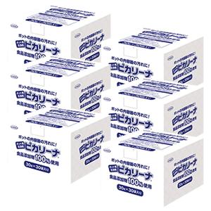 UYEKI(ウエキ) ポット用洗浄剤 ピカリーナ 業務用 (30g×30袋) × 6箱セット UY057913