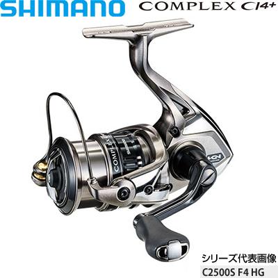 シマノ 17コンプレックスCI4+ C2500S F4 HG コード:03708 4