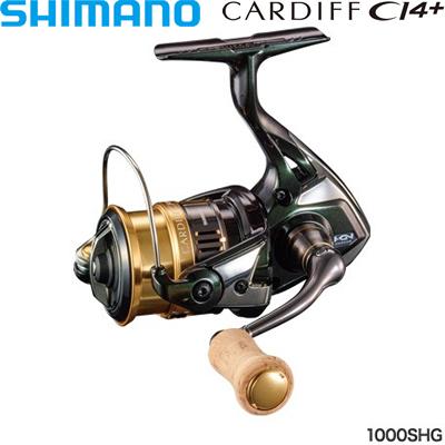 シマノ 18カーディフCI4+ 1000SHG コード:03934 7【在庫有り】【あす楽】