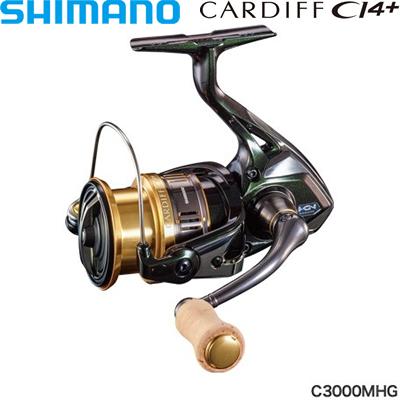 シマノ 18カーディフCI4+ C3000MHG コード:03935 4
