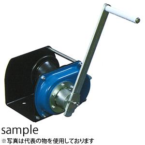 富士製作所 手動ウインチ ポータブルウインチ LHW-1500CP 横引きエンドレス作業用