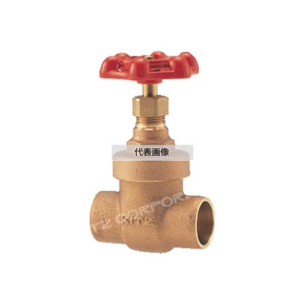 管材商品_バルブ_ゲートバルブKITZ(キッツ):CH 40A キッツ 汎用 銅管接続用ゲート(CH) CH 40A
