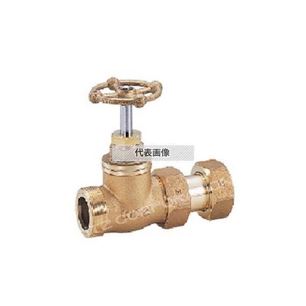 管材商品_バルブ_メーターユニット関連_止水栓KITZ(キッツ):WSK-GEW 30A キッツ 給水装置関連製品 玉形ハンドル(WSK-GEW) WSK-GEW 30A