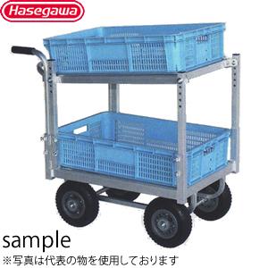 長谷川工業 アルミ製 ハウスカー2段積タイプ 愛菜号 CHR-30-2 [個人宅配送不可]