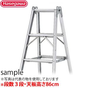 長谷川工業 アルミ製 専用脚立 TAK-09C 最大使用質量160kg [個人宅配送不可]