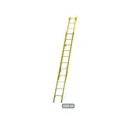 長谷川工業 FRP2連はしご USG-75 電気工事・電設作業用 [送料別途お見積り]