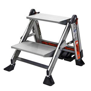 長谷川工業 アルミ製 上枠付作業台 ジャンボステップ LG-11902