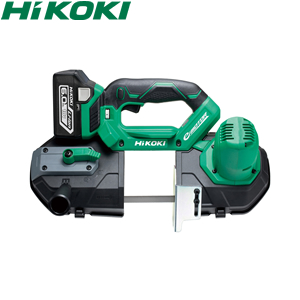 HiKOKI(日立工機) 18V コードレスロータリバンドソー CB18DBL(S)(LXPK) 本体・充電池・急速充電器・ケース付 ブラシレスモーター【在庫有り】【あす楽】