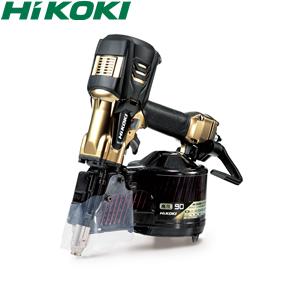 大人女性の HiKOKI(日立工機) 高圧ロール釘打機 90mmモデル NV90HR2(N) パワー切替機構なし ハイゴールド ケース付:セミプロDIY店ファースト-DIY・工具