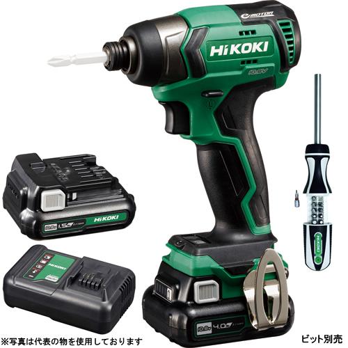 HiKOKI(日立工機) 10.8V コードレスインパクトドライバ WH12DD(2ES) ラチェットドライバ付(0040-2121) 【在庫有り】