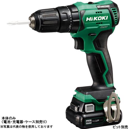 HiKOKI(日立工機) 10.8V コードレス振動ドライバドリル DV12DD(NN) 本体のみ(電池・充電器・ケース別売り)