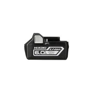 日立工機(HiKOKI) スライド式リチウムイオン電池 冷却対応 BSL1860 (18V/6.0Ah) 【在庫有り】【あす楽】