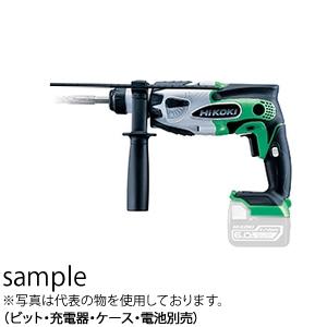 日立工機(HiKOKI) 14.4V コードレスロータリハンマドリル DH14DSL(NN)(L:アグレッシブグリーン) 本体のみ(充電器・ケース・電池・ドリルビット別売)