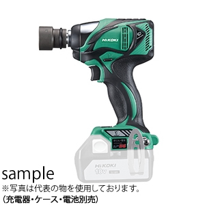 HiKOKI(日立工機) 18V コードレスインパクトレンチ WR18DBAL2(NN)(L:アグレッシブグリーン) 本体のみ(充電器・ケース・電池別売) ブラシレスモーター
