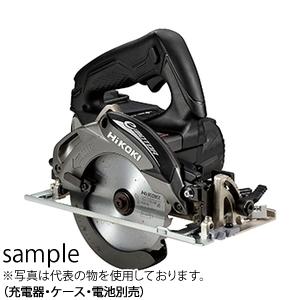 日立工機(HiKOKI) 14.4V 125mmコードレス丸のこ C14DBL(NN)(B:ストロングブラック) チップソー付 本体のみ(充電器・ケース・電池別売) ブラシレスモーター