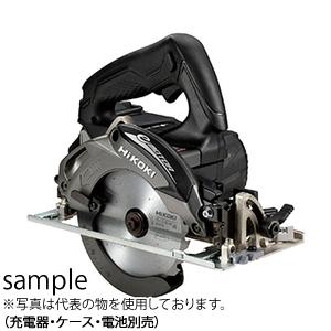 日立工機 18V 125mmコードレス丸のこ C18DBL(NN)(B:ストロングブラック) チップソー付 本体のみ(充電器・ケース・電池別売) ブラシレスモーター