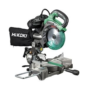 日立工機(HiKOKI) 100V 190mmレーザーマーカ付卓上丸のこ C7FCH スーパーチップソー・LEDライト付