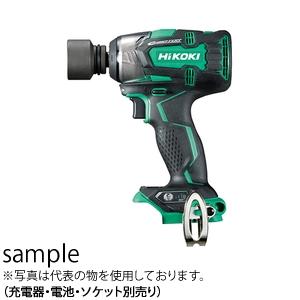 HiKOKI(日立工機) 18V コードレスインパクトレンチ WR18DBDL2(NN) ソケット別売り 本体のみ(充電器・ケース・電池別売)5125-7244