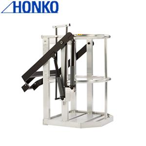本宏製作所(HONKO) アルミ製クレーン用ゴンドラ F-3000W ワイドタイプ [大型・重量物] ご購入前確認品