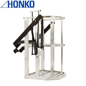 本宏製作所(HONKO) アルミ製クレーン用ゴンドラ F-3000WH ワイド深型タイプ [大型・重量物] ご購入前確認品