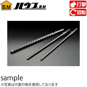 ハウスBM 六角シャンクドリル(ロングサイズ) LD-38.0 『入数:5本』 刃先径:38.0mm 有効長:385mm