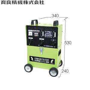 育良精機(イクラ) IS-160CBA イクラトロンコンパクト DC36V バッテリー内蔵型直流アーク溶接機 出力電流:90~150A