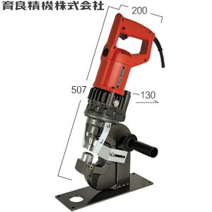 育良精機(イクラ) IS-20MPS AC100V 電動油圧式ミニパンチャー 圧力規制弁付